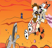 Calvin and Hobbes: Doctor Who From Another Planet! by MikeCotopolis
