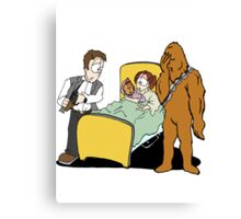 What did Chewy Do? Canvas Print
