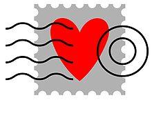 Love Stamp - Sending my Love by Graham Bliss