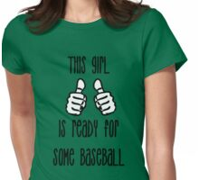 It's almost time! Womens Fitted T-Shirt