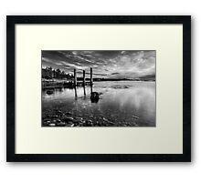 Reflections at Dawn Framed Print