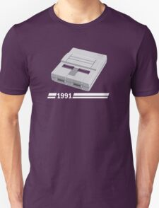 History of Gaming - SNES T-Shirt