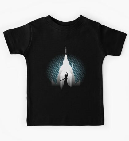 The Cold Never Bothered Me Anyway Kids Tee