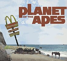 Planet of the Apes McDonald's by Vajtan Shanava