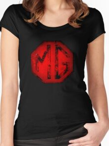 MG Badge Women's Fitted Scoop T-Shirt