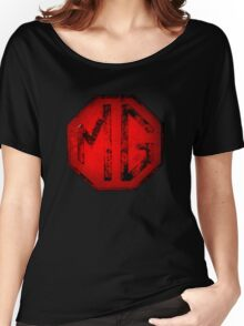 MG Badge Women's Relaxed Fit T-Shirt