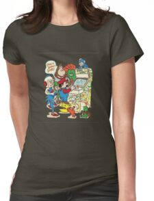 In a Parallel Universe Womens Fitted T-Shirt