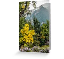 Fall For The Flatirons Greeting Card