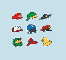 Game Hats by TimberRice