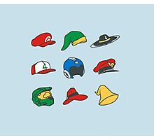 Game Hats Photographic Print