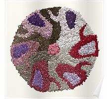 Unusual Mandala for Inner Peace Poster