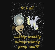 It's all wibbly wobbly Unisex T-Shirt