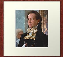 sir percy portrait framed smaller picture and cherry framed by DrWhoJohnSmith