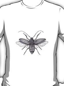 Longicorn Beetle in Ink T-Shirt