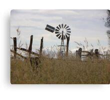 Wind blown Canvas Print