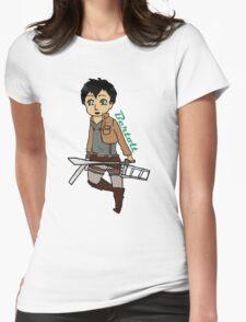 Chibi Bertolt Womens Fitted T-Shirt