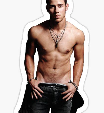 Nick Jonas 3 Sticker