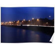 Nightime Promenade Poster