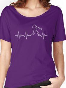 My Heart Beats for Baseball Women's Relaxed Fit T-Shirt
