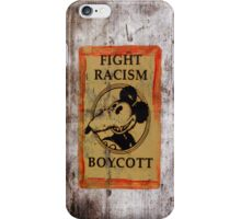boycott from the children's heart iPhone Case/Skin