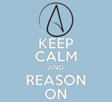 Keep Calm, Reason On Kids Tee
