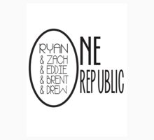 OneRepublic, 5 Members by PaperMachete