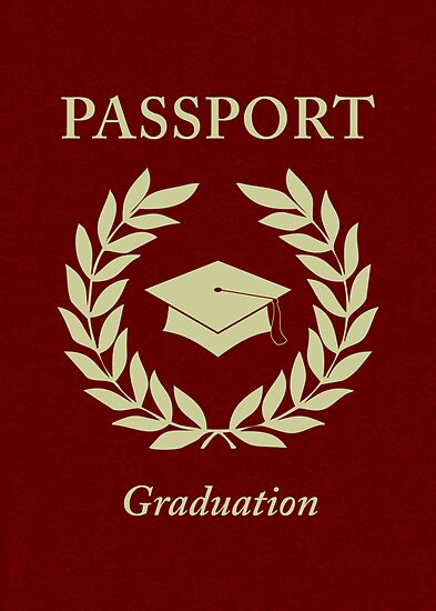 graduation passport by maydaze