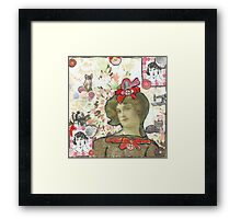 Buttons & Bows Framed Print
