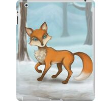 Lady Fox iPad Case/Skin