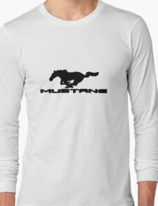 Ford Mustang Logo Tee Long Sleeve T-Shirt