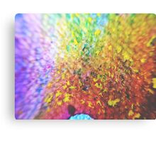 Halftone In the Flesh Canvas Print