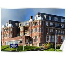 The Victoria Hotel, Sidmouth.Devon. UK Poster