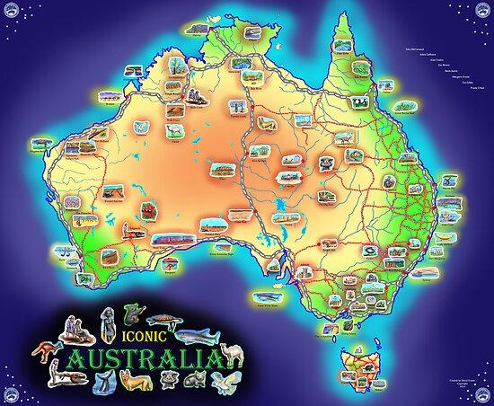 Iconic Australia by David Fraser