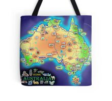 Iconic Australia Tote Bag