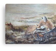 Morning of the Hunt Canvas Print