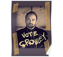 VOTE CROWLEY Poster