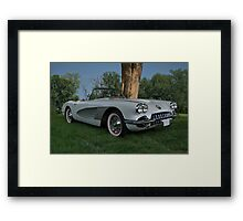 1959 Corvette Framed Print