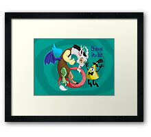 Chaos Buds! Framed Print