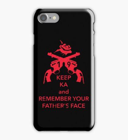Keep KA - red edition iPhone Case/Skin