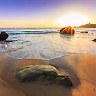 Sunset on Quiberon bay II by RomainChalaye