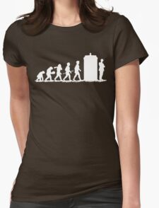 Evolution Doctor! Womens Fitted T-Shirt