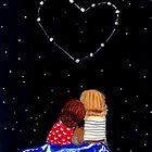 Heart Constellation by carla zamora