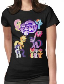 My Little Pony - Mane Cast Womens Fitted T-Shirt