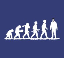 Evolution Heisenberg   by RocketmanTees