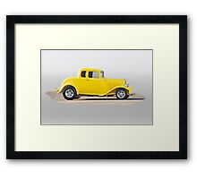 1932 Ford Five Window Coupe Framed Print