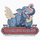 Flying Pachyderms by Stieven Van der Poorten