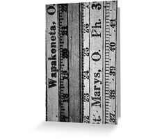 Measure Up Greeting Card
