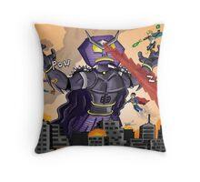Robot Ramage (TC Adventures) Throw Pillow