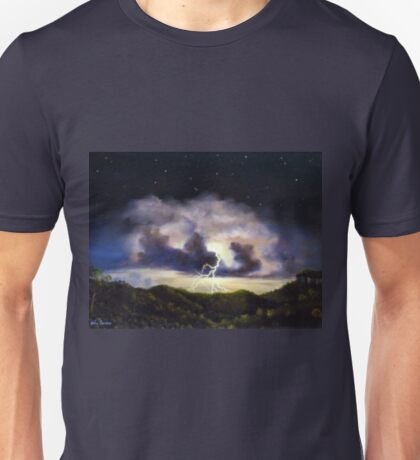 Night Thunderstorm Unisex T-Shirt