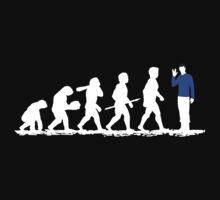 Evolution Spock! Kids Tee